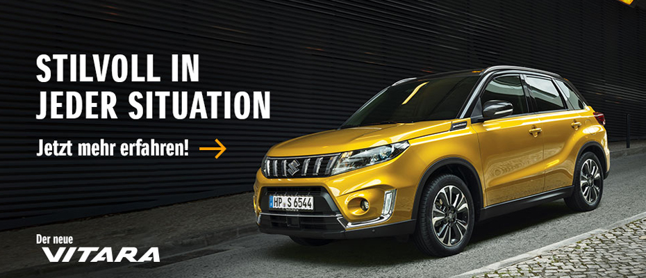 Suzuki Vitara – Stilvoll in jeder Situation